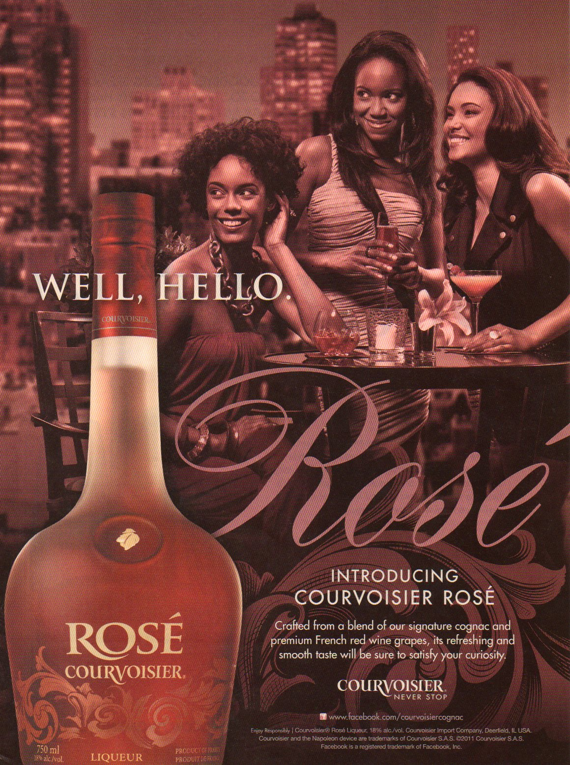 Courvoisier Rose – Whitney White